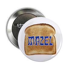 "Mazel Toast 2.25"" Button"