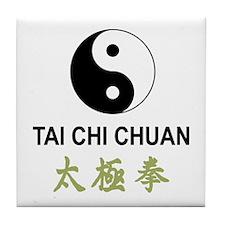 Tai Chi Tile Coaster