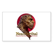 Neanderthal Rectangle Decal