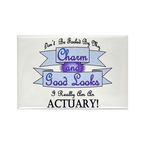 Actuary Really Rectangle Magnet (100 pack)