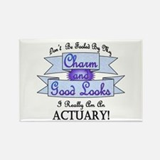 Actuary Really Rectangle Magnet