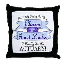 Actuary Really Throw Pillow