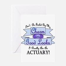 Actuary Really Greeting Card