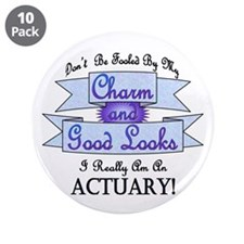 """Actuary Really 3.5"""" Button (10 pack)"""