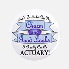 "Actuary Really 3.5"" Button"