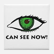 Eye Can See Tile Coaster