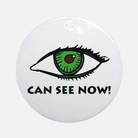 Eye Can See Ornament (Round)