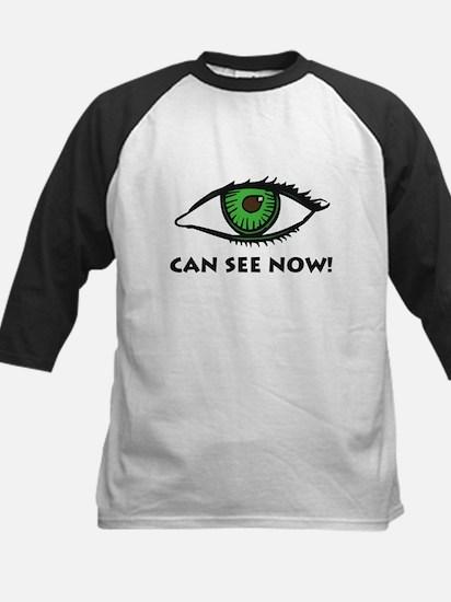 Eye Can See Kids Baseball Jersey