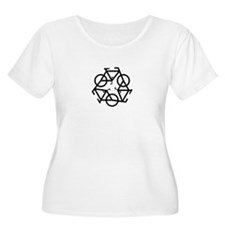 Recycle Bicycle Plain T-Shirt