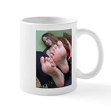 bottom of feet Mugs