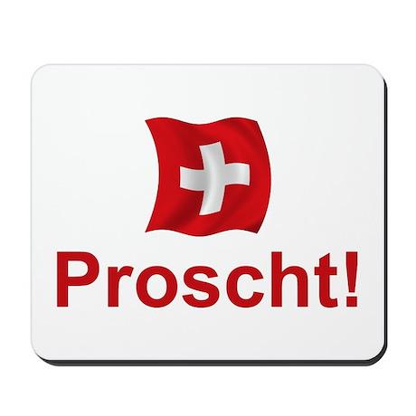 Swiss Proscht Mousepad