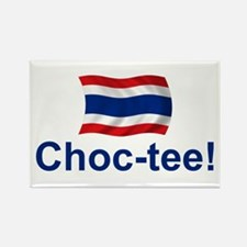 Thailand Choc-tee Rectangle Magnet