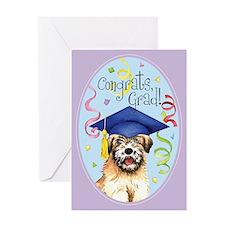 Wheaten Graduate Greeting Card