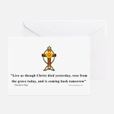 Epp Christan Quote Greeting Cards (Pk of 10)