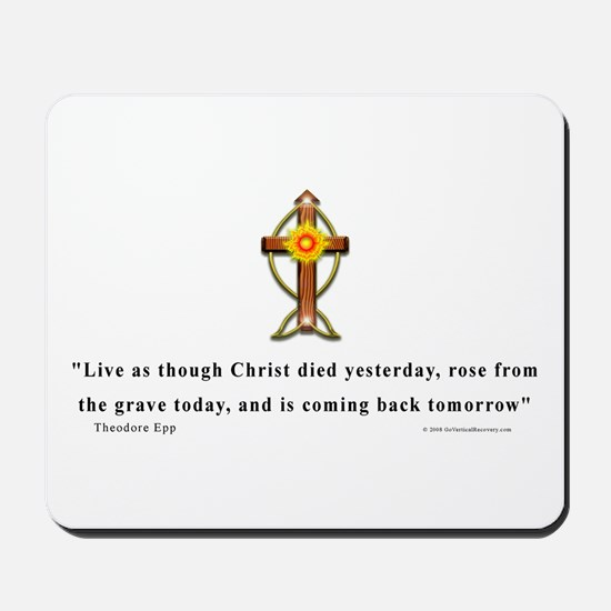 Epp Christan Quote Mousepad