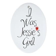 Jesse's Girl Oval Ornament