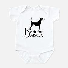 Bark for Barack Infant Bodysuit