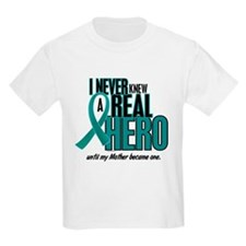 Never Knew A Hero 2 Teal (Mother) T-Shirt