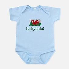 Wales Iechyd da Infant Bodysuit