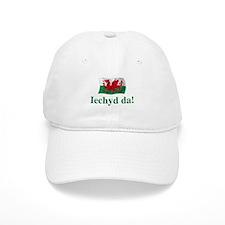 Wales Iechyd da Baseball Cap