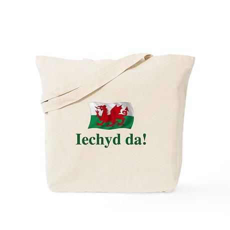 Wales Iechyd da Tote Bag