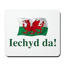 Wales Iechyd da Mousepad