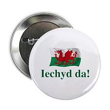 """Wales Iechyd da 2.25"""" Button"""