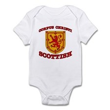 Corpus Christi Scottish Infant Bodysuit