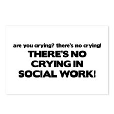 There's No Crying in Social Work Postcards (Packag