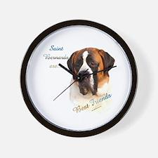 Saint Best Friend 1 Wall Clock