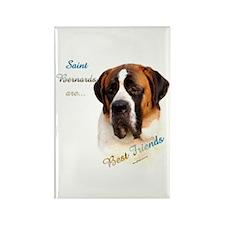 Saint Best Friend 1 Rectangle Magnet (100 pack)