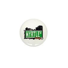 MYRTLE AV, BROOKLYN, NYC Mini Button (10 pack)