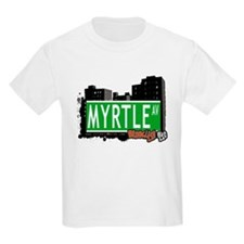 MYRTLE AV, BROOKLYN, NYC T-Shirt