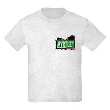 MYRTLE AV, BROOKLYN, NYC T-Shirt