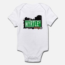 MYRTLE AV, BROOKLYN, NYC Infant Bodysuit