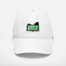 MYRTLE AV, BROOKLYN, NYC Baseball Baseball Cap