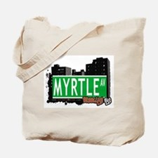 MYRTLE AV, BROOKLYN, NYC Tote Bag