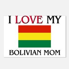 I Love My Bolivian Mom Postcards (Package of 8)