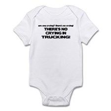 There's No Crying Trucking Onesie