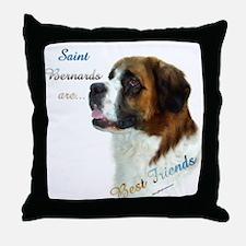Saint Best Friend 1 Throw Pillow