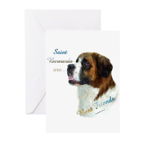 Saint Best Friend 1 Greeting Cards (Pk of 10)