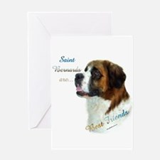 Saint Best Friend 1 Greeting Card