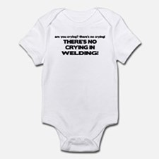 There's No Crying Welding Onesie