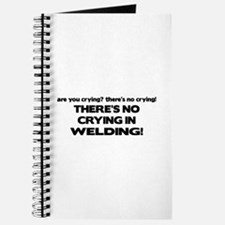 There's No Crying Welding Journal