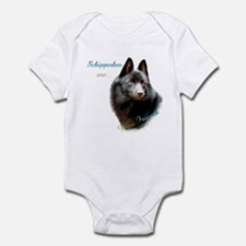 Schipperke Best Friend 1 Infant Bodysuit