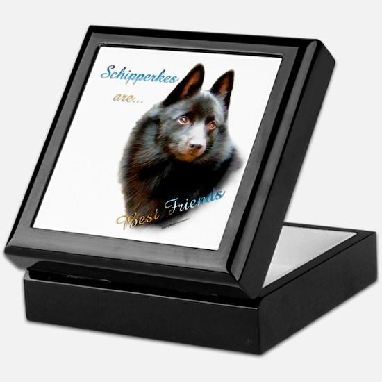 Schipperke Best Friend 1 Keepsake Box