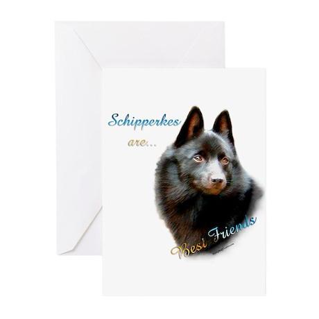 Schipperke Best Friend 1 Greeting Cards (Pk of 10)