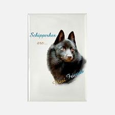 Schipperke Best Friend 1 Rectangle Magnet