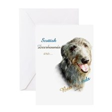 Deerhound Best Friend 1 Greeting Card