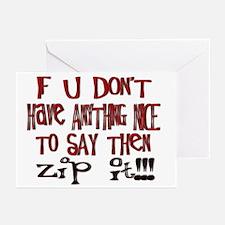 Zip It! Greeting Cards (Pk of 10)